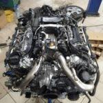 Ремонт двигателя V8 Мерседес M278.932